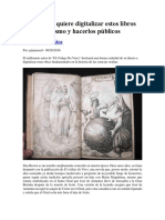 Dan Brown Quiere Digitalizar Estos Libros Sobre Ocultismo y Hacerlos Públicos