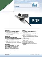SPEKTRA Coupler SQ-4.2 Datasheet En