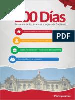 Resumen de Los Avances y Logros de Gobierno (100 días de PPK)