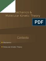 Mechanics Molecular Kinetic Theory