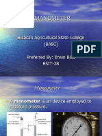 MANOMETER Power Point