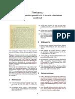 · Ptolomeo · Cristianismo Gnóstico Primitivo de La Escuela Valentiniana Occidental ·