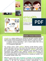 EHealth - Architecture and Deployment