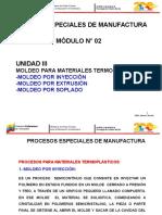 Proc. Especiales de Manufactura Unidad 3 Módulo II
