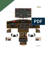 ATR 42 Cockpit Poster