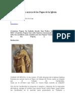 Lo que no sabías acerca de los Papas de la Iglesia Católica.docx