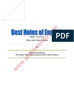 English Notes Aiou