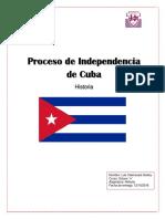 Trabajo Proceso de Independencia de Cuba