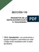 SECCIÓN 110