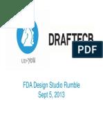 fda design studio rumble 090513 sample