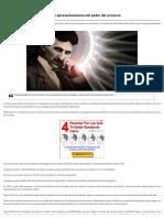 Nikola Tesla_ Éter, Antigravedad y Aprovechamiento Del Poder Del Universo _ Código Oculto