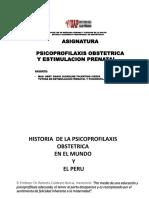 IV Clase Historia Psicoprofilaxis