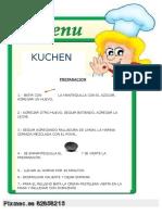preparacion KUCHEN