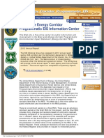 West-wide Energy Corridor Programmatic EIS Information Center