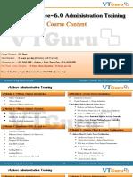 Vsphere Administration Contents