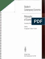 Stegmüller, Balzer & Spohn (Eds)-Philosophy of Economics