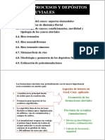 Procesos Y Depositos Fluviales I
