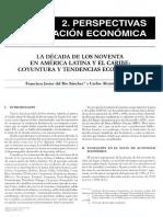 La Década de Los Noventa en América Latina y El Caribe