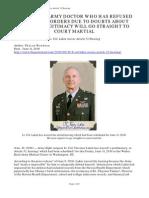 Sharon Rondeau - Lt Col Lakin Waives Article 32 Hearing