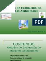 Metodos Clasificacion de Impactos Ambientales