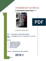 Informe 2 - Van Der Waals