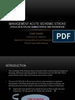 1.Lisda - Management Acute Ischemic Stroke