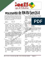 Miscelánea Rm Rv Sem16 II