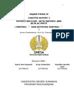 Chapter Report Fisika v (Erna, Amin, Rustika)
