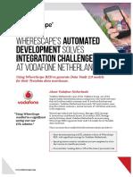 WhereScape VodafoneNL Case Study