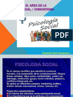 Elaboración Informe Psicologico social comunitario