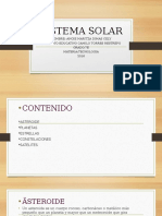 Aangie Maritza Dimas Cely Sistema Solar