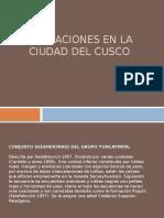 Formaciones en La Ciudad Del Cusco