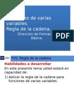 Fvv Regla de La Cadena