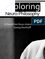 Exploring Neuro-Philosophy- A David Van Nuys Interview With Georg Northoff