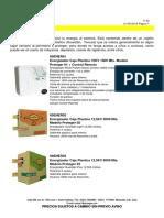 Cerco Electrico, Materiales