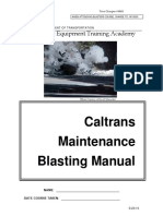 15 Caltrans Blasting Manual