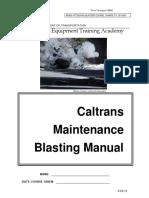 15 Caltrans Blasting Manual