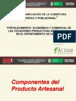 Componentes Prod Artesa