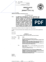 City Council First-Read Ordinances, 06/09/2010 - Jersey City