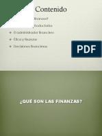 Semana 1 y 2 Introduccion Finanzas