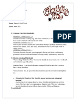 Lesson Plan 1 Charlotte's Web