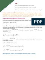 Sec 8.3 Integrales Trigonometricas