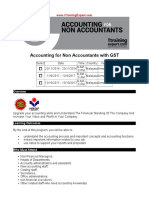 Accounting for Non Accountants With GST