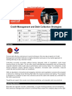 Credit Management and Debt Collection Strategies