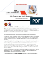 Debt Recovery and Credit Management