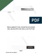 Reglamento de Construcciones de SLP