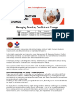 Managing Emotion Conflict and Change