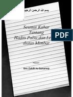 103 Hadist Palsu dan Lemah di atas Mimbar.pdf