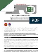 Microsoft Excel Intermediate