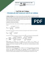 Factor de Forma